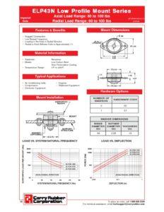 thumbnail of ELP43N Low Profile Mount Series