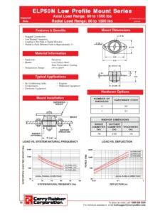 thumbnail of ELP50N Low Profile Mount Series